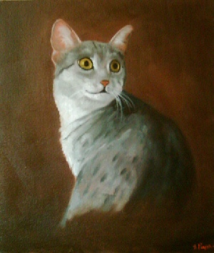 Cat - Pet Portraits from photographs