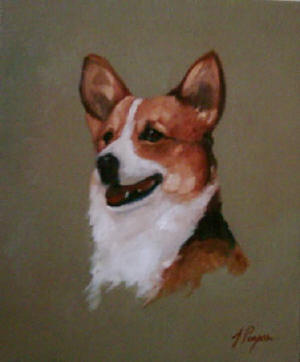 Corgi - Pet Portraits from photographs