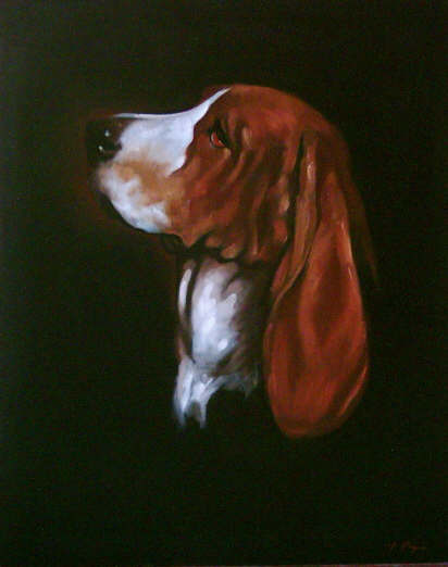 Beagle - Pet Portraits from photographs