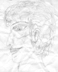 Psychic Art - Before Spirit Portrait