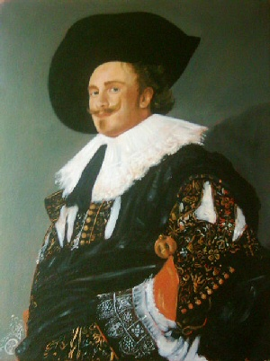 Oil Painting - Grand Master