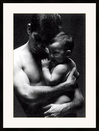Father-Son Art Print
